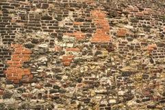 Praga, castillo superior - pared del ladrillo Para el fondo Imagen de archivo