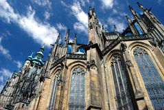 Praga - catedral del St. Vitus Imágenes de archivo libres de regalías