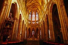 Praga. Catedral del St. Vitus Foto de archivo libre de regalías