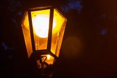 Praga centre lampa Obraz Royalty Free