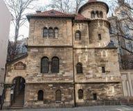 PRAGA, CHECO - 14 DE MARZO DE 2016: Arquitectura de Praga, checa Museo judío en Praga Fotos de archivo libres de regalías