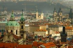 Praga - città di cento guglie Fotografia Stock