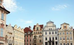 Praga, ciudad vieja Imagenes de archivo