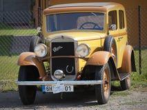PRAGA - Corsa e sport storici HRADEC automobilistico KRALOVE - REPUBBLICA CECA immagini stock