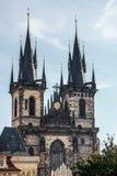 PRAGA, czech REPUBLIC/EUROPE - WRZESIEŃ 24: Kościół Nasz chłopaczyna zdjęcie royalty free