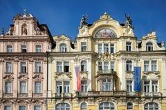 PRAGA, czech REPUBLIC/EUROPE - WRZESIEŃ 24: Ministerstwo miejscowy zdjęcie stock