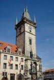 PRAGA, czech REPUBLIC/EUROPE - WRZESIEŃ 24: Stary urząd miasta Holowniczy Obrazy Stock
