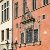 PRAGA, czech REPUBLIC/EUROPE - WRZESIEŃ 24: Urzędu miasta buildin obrazy stock