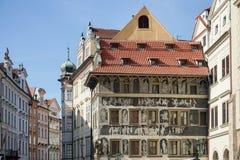 PRAGA, czech REPUBLIC/EUROPE - WRZESIEŃ 24: Wysoce dekorujący obraz stock