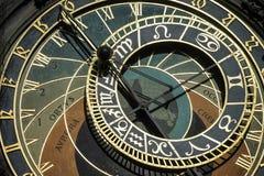 PRAGA, czech REPUBLIC/EUROPE - WRZESIEŃ 24: Astronomiczny cloc zdjęcie stock