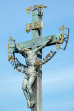 PRAGA, czech REPUBLIC/EUROPE - WRZESIEŃ 24: Statuaryczny St Cr Zdjęcia Royalty Free