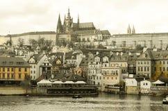 Praga czecha kasztel Obraz Royalty Free