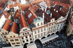 Praga Dächer Lizenzfreie Stockfotografie
