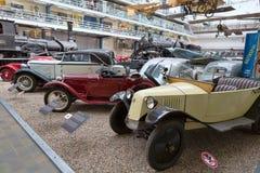 PRAGA - 12 DE MAYO: El coche Tatra del vintage en la exhibición en el Nationa Imagen de archivo