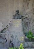 PRAGA - 19 DE MAYO: Lugar de descanso pasado de Antonin Dvorak Imagenes de archivo