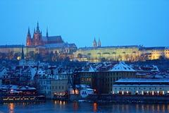 Praga - el castillo Foto de archivo