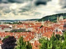 Praga em junho Imagens de Stock Royalty Free