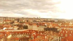 Praga en invierno Fotos de archivo