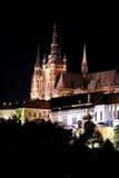 Praga en la noche Fotografía de archivo
