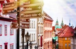 Praga es el capital de la República Checa Fotografía de archivo