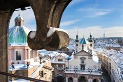 Praga góruje Obraz Royalty Free
