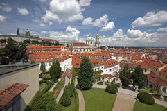 Praga, giardino di Vrtbovska Immagine Stock Libera da Diritti