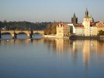 Praga hermosa Foto de archivo libre de regalías