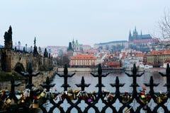 Praga histórica Foto de Stock Royalty Free