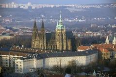 Praga - Hradcany Immagine Stock Libera da Diritti