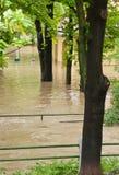 Praga inondazione giugno 2013 fotografie stock