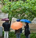 Praga inondazione giugno 2013 immagine stock