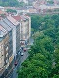 Praga inondazione giugno 2013 fotografia stock