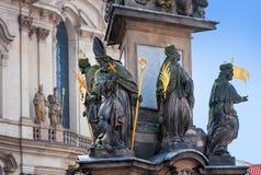 Praga jest kapitałem republika czech Obraz Royalty Free