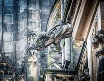 Praga jest kapitałem republika czech Zdjęcia Royalty Free