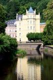 Praga, Karlovi Vari. imagen de archivo