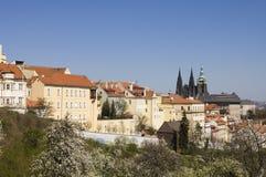 Praga kasztel Zdjęcie Royalty Free