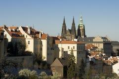 Praga kasztel Fotografia Royalty Free