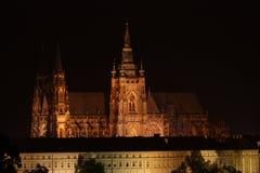 Praga kasztel Zdjęcie Stock