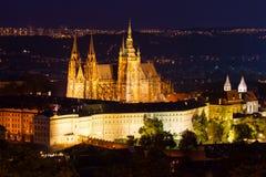 Praga kasztel obrazy royalty free