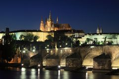 Praga kasztel zdjęcia royalty free