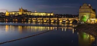 Praga kasztel Zdjęcia Stock