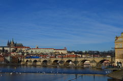 Praga kasztel 3 Obraz Royalty Free