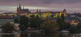 Praga kasztel IX zdjęcie royalty free