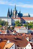 Praga kasztel, Praga, republika czech (UNESCO) Zdjęcie Stock