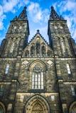Praga kościół Zdjęcia Royalty Free