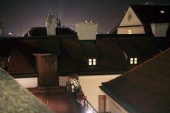 Praga Lesser Town Roofs Fotografia de Stock Royalty Free