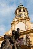 Praga Loreto com céu azul Fotos de Stock