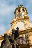 Praga Loreto con el cielo azul Fotos de archivo