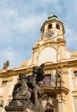 Praga Loreto con el cielo azul Imagen de archivo