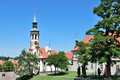 Praga Loretta, século 17 Fotografia de Stock Royalty Free